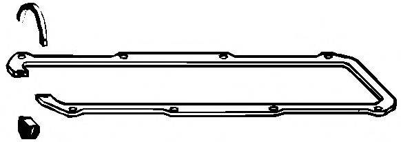 Прокладка клапанной крышки ELRING 104.841