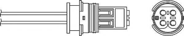 Лямбда-зонд BERU OPH038