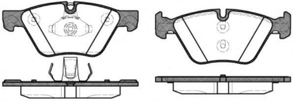 Тормозные колодки REMSA 1052.30