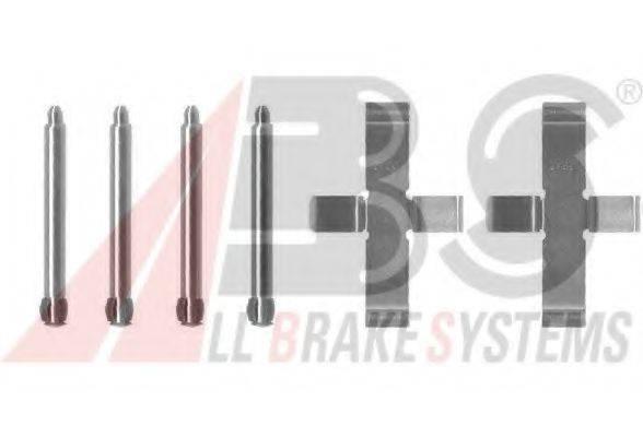 Комплектующие, колодки дискового тормоза A.B.S. 1046Q