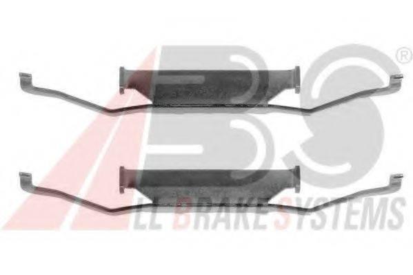 Комплектующие, колодки дискового тормоза A.B.S. 1054Q