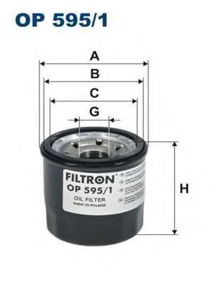 Фильтр масляный ДВС  FILTRON OP595/1