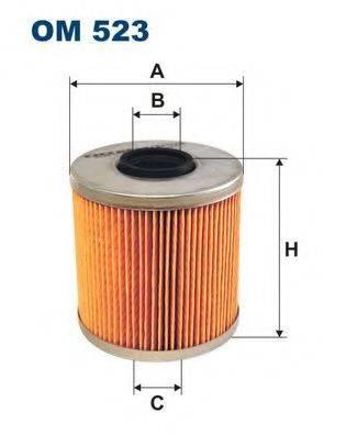 Фильтр масляный ДВС  FILTRON OM523