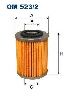 Фильтр масляный ДВС  FILTRON OM523/2