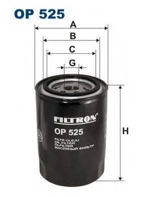 Фильтр масляный ДВС  FILTRON OP525