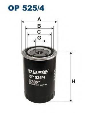 Фильтр масляный ДВС  FILTRON OP525/4