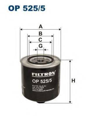 Фильтр масляный ДВС  FILTRON OP525/5