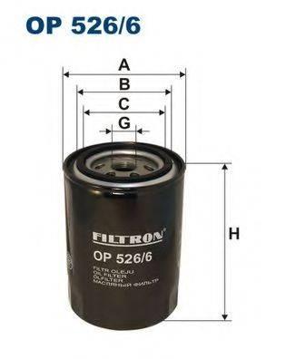 Фильтр масляный ДВС  FILTRON OP526/6