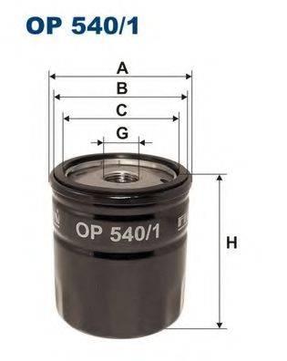 Фильтр масляный ДВС  FILTRON OP540/1