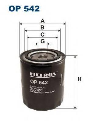 Фильтр масляный ДВС  FILTRON OP542