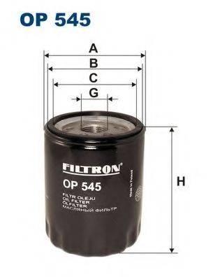 Фильтр масляный ДВС  FILTRON OP545
