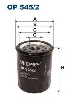 Фильтр масляный ДВС  FILTRON OP545/2