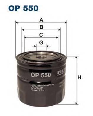 Фильтр масляный ДВС  FILTRON OP550