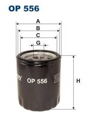 Фильтр масляный ДВС  FILTRON OP556