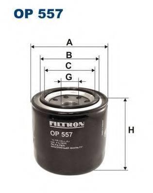 Фильтр масляный ДВС  FILTRON OP557