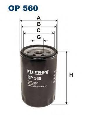 Масляный фильтр; Масляный фильтр, ступенчатая коробка передач FILTRON OP560