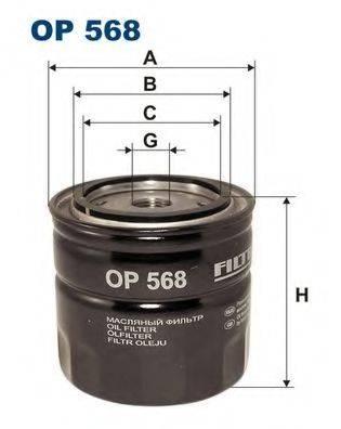 Масляный фильтр; Масляный фильтр, ступенчатая коробка передач FILTRON OP568
