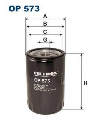 Фильтр масляный ДВС  FILTRON OP573