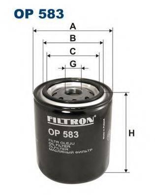 Фильтр масляный ДВС  FILTRON OP583