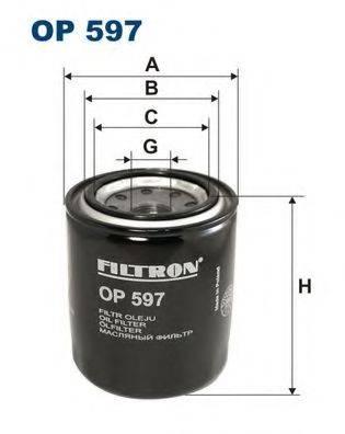 Фильтр масляный ДВС  FILTRON OP597