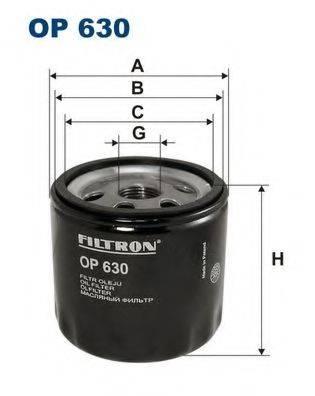 Фильтр масляный ДВС  FILTRON OP630
