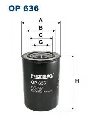 Фильтр масляный ДВС  FILTRON OP636