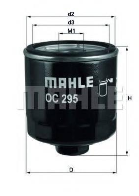 Фильтр масляный ДВС  MAHLE ORIGINAL OC 295