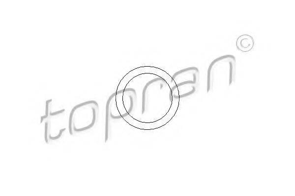 Прокладка, вакуумный насос TOPRAN 104 533