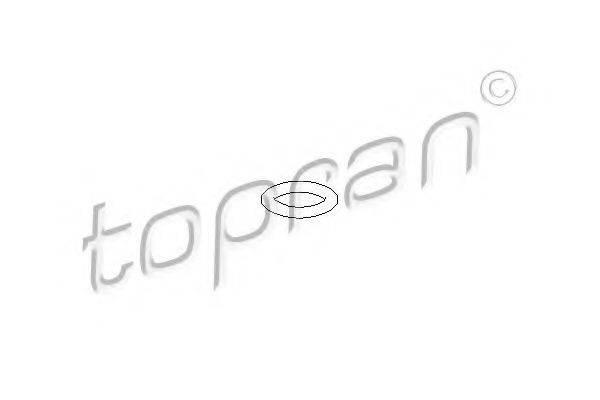 Уплотнительное кольцо, термовыключ TOPRAN 104 529