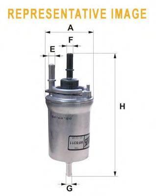 Топливный фильтр WIX FILTERS WF8386
