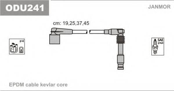 Комплект проводов зажигания JANMOR ODU241
