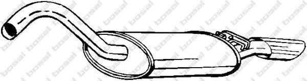 Глушитель выхлопных газов конечный BOSAL 105-119