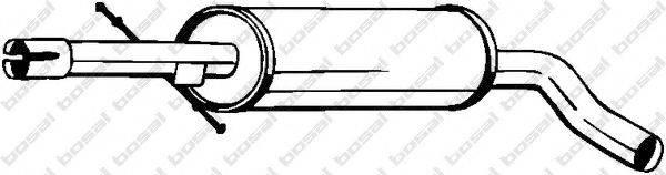 Средний глушитель выхлопных газов BOSAL 105-497