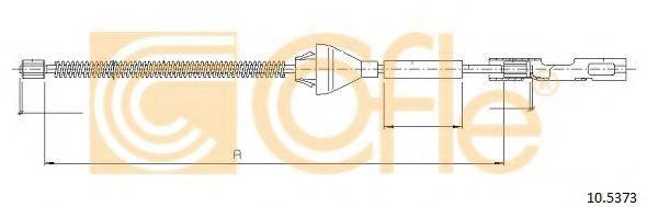 Трос, стояночная тормозная система COFLE 10.5373