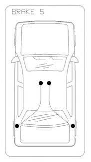Трос, стояночная тормозная система COFLE 10.5378